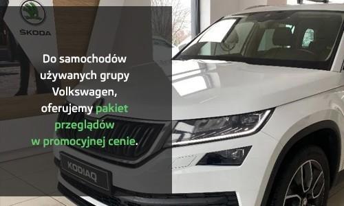 Pakiet przeglądów do samochodów używanych z grupy VW